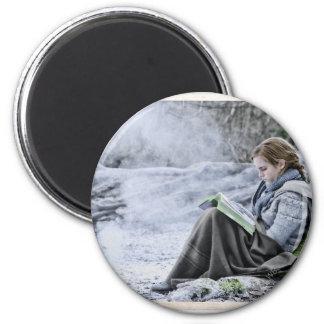 Hermione 13 2 inch round magnet