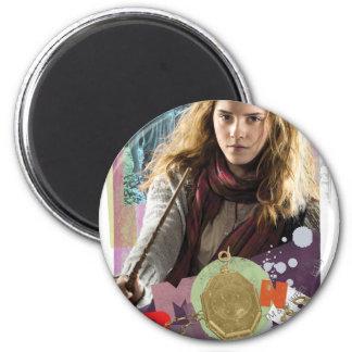 Hermione 14 2 inch round magnet
