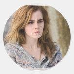 Hermione 2 classic round sticker