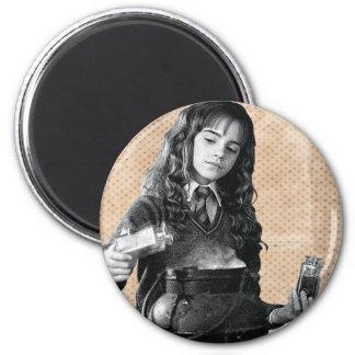 Hermione 7 2 inch round magnet