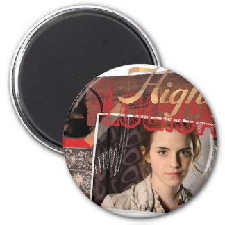 Hermione 8 2 inch round magnet