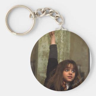 Hermione aumenta su mano llavero redondo tipo pin