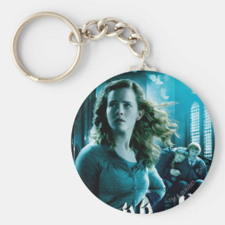 Hermione Granger 3 Llavero Redondo Tipo Pin
