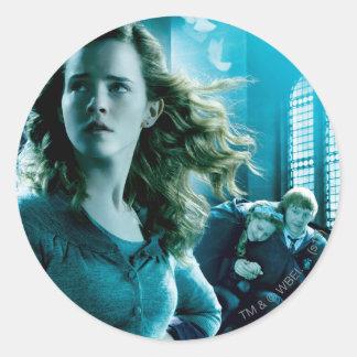 Hermione Granger 3 Round Stickers