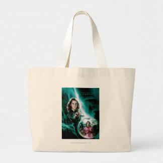 Hermione Granger and Professor Umbridge Large Tote Bag