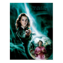 Hermione Granger and Professor Umbridge Postcard
