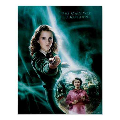 Hermione Granger and Professor Umbridge Posters