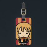 """Hermione Granger Cartoon Character Art Luggage Tag<br><div class=""""desc"""">Check out this adorable cartoon character art for Hermione Granger,  from the story &quot;Harry Potter&quot;.</div>"""