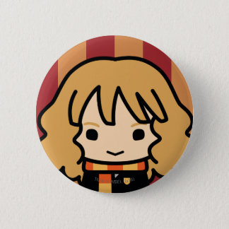 Hermione Granger Cartoon Character Art Pinback Button