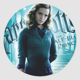 Hermione Granger Classic Round Sticker