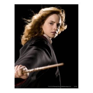 Hermione Granger listo para la acción Postales