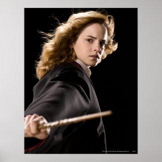 Hermione Granger listo para la acción Póster