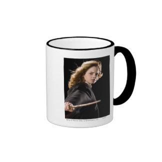 Hermione Granger listo para la acción Taza A Dos Colores