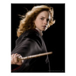 Hermione Granger Ready For Action Poster