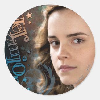 Hermione Granger Round Sticker