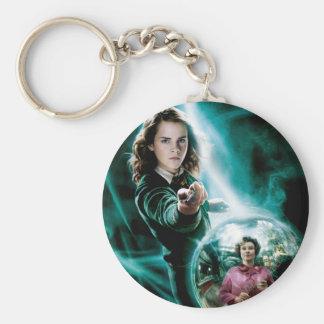 Hermione Granger y profesor Umbridge Llavero Redondo Tipo Pin