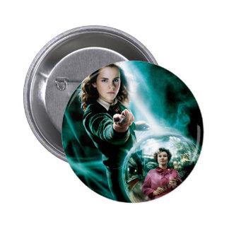 Hermione Granger y profesor Umbridge Pins