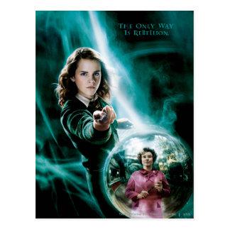 Hermione Granger y profesor Umbridge Tarjetas Postales