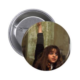 Hermione raises her hand 2 inch round button