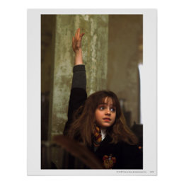Hermione raises her hand poster