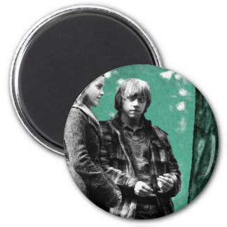 Hermione, Ron, and Harry 1 Magnet