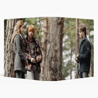 Hermione, Ron, and Harry 2 Binder