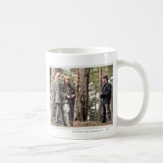 Hermione, Ron, and Harry 2 Classic White Coffee Mug