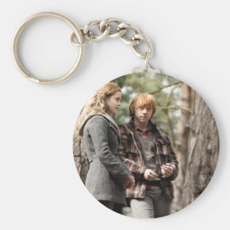 Hermione, Ron, and Harry 2 Keychain