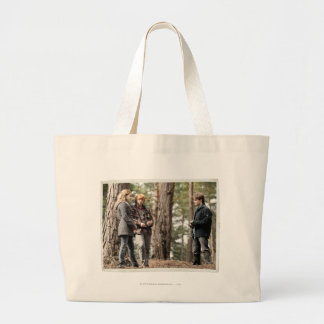 Hermione, Ron, and Harry 2 Large Tote Bag