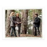 Hermione, Ron, and Harry 2 Postcards