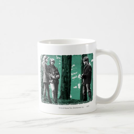 Hermione, Ron, y Harry 1 Taza