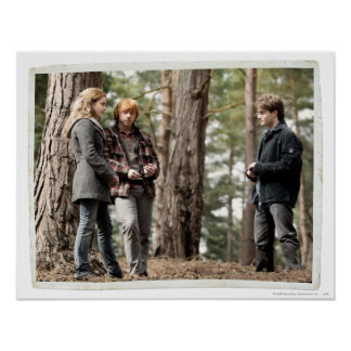 Hermione, Ron, y Harry 2 Posters