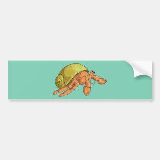 Hermit Crab Bumper Sticker