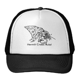 hermit crab by Ethan, Hermit Crabs Rule! Trucker Hat