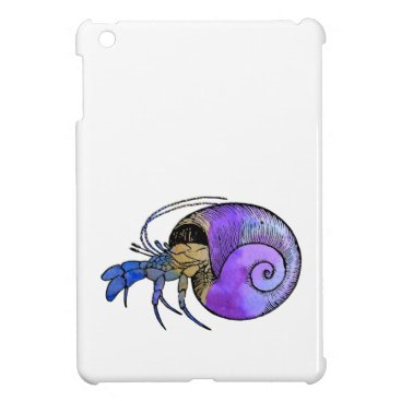 Beach Themed Hermit Crab Case For The iPad Mini
