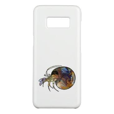 Beach Themed Hermit Crab Case-Mate Samsung Galaxy S8 Case