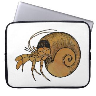 Hermit Crab Computer Sleeve