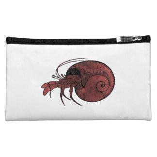 Hermit Crab Cosmetic Bag