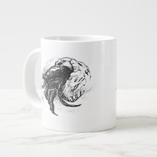 Hermit Crab in Black Giant Coffee Mug