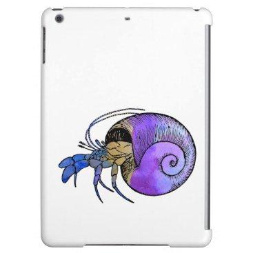 Beach Themed Hermit Crab iPad Air Case