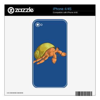 Hermit Crab iPhone 4 Skin