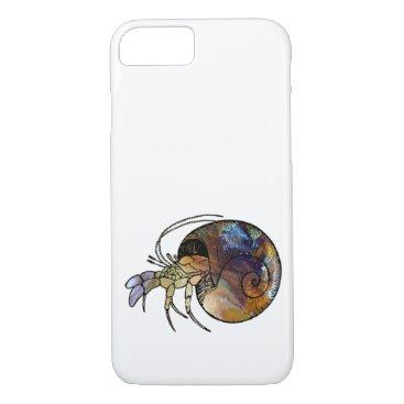 Beach Themed Hermit Crab iPhone 7 Case