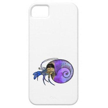 Beach Themed Hermit Crab iPhone SE/5/5s Case