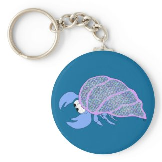 Hermit Crab keychain