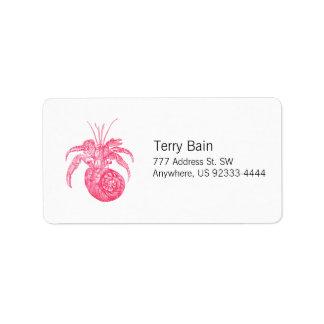 Hermit Crab Label
