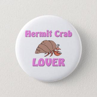 Hermit Crab Lover Button