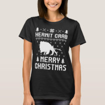 HERMIT CRAB Merry christmas Sweaters T-shirt