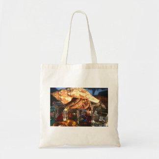 Hermit Crab on Ice Cubes Bag