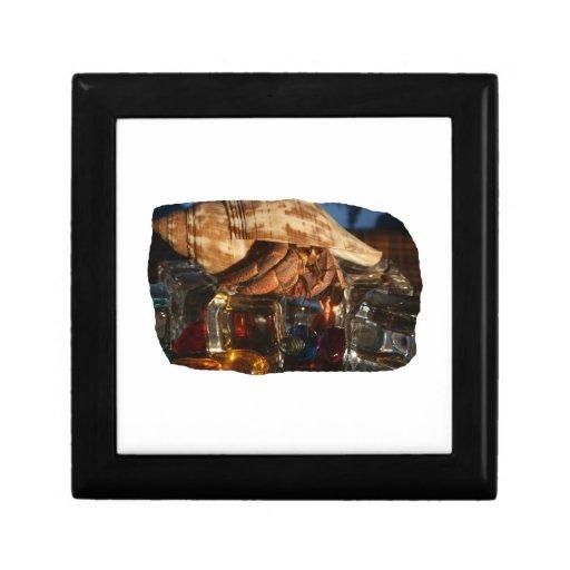 Hermit Crab on Ice Cubes Jewelry Box
