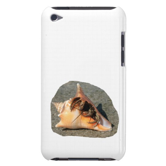Hermit Crab on Sand Coming out of shell Barely There iPod Case